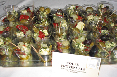 Timbales provençale